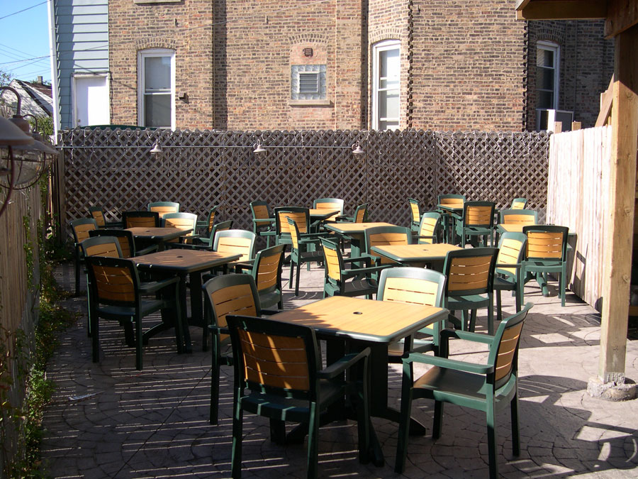 Chicago Beer Garden 60618