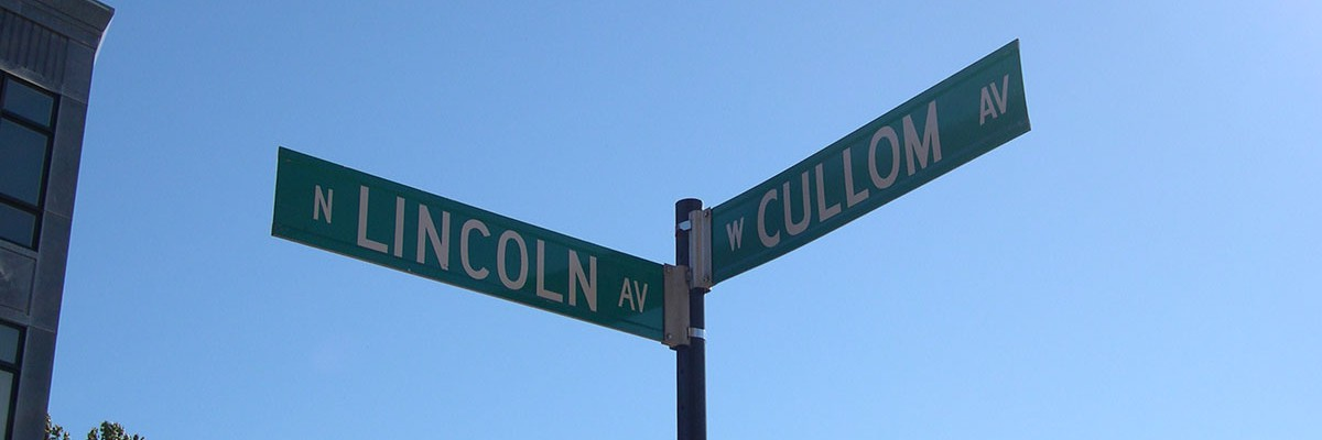 corner of lincoln and cullom