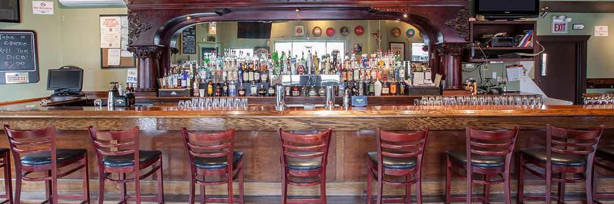 the bar in gannons pub